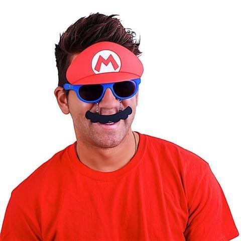 f1aaddf5d85 Sun-Staches Super Mario Brothers Mario Sunstaches ...