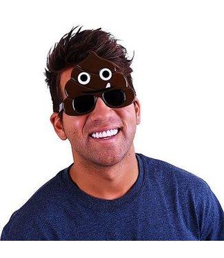 Sun-Staches Sunglasses Emotion Poo Sunstaches