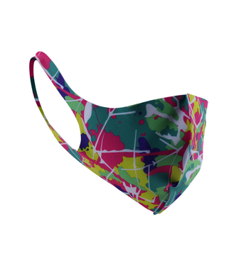 Face Mask Green Background Polyester- 10