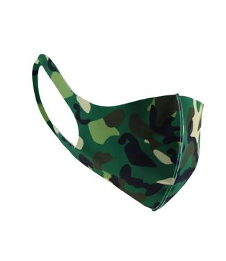 Face Mask Camouflage Dark Polyester- 4
