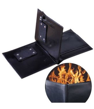 Flaming Wallet Fire Wallet by Ronjo