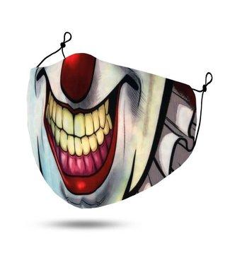 Face Mask Clown, Washable/Reusable SL