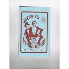 Used Book - Secrets Of Ventriloquism by Calostro