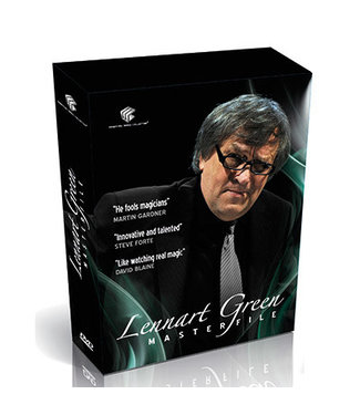 Pre-Viewed DVD Lennart Green MASTERFILE 4 DVD Set by Lennart Green and Luis de Matos - DVD