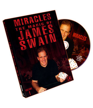 Pre Viewed DVD Miracles - The Magic of James Swain Vol. 1