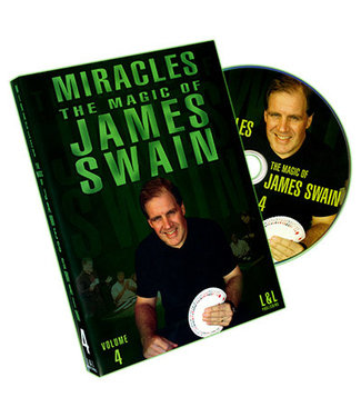 Pre-Viewed DVD Miracles - The Magic of James Swain Vol. 4