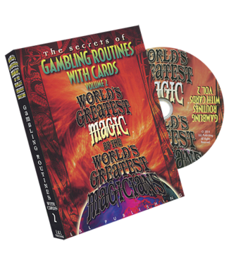 Pre-Viewed DVD Gambling Routines With Cards Vol. 2, World's Greatest no video case