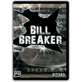 Penguin Magic Bill Breaker DVD and Download by Bizzaro Download + Cards