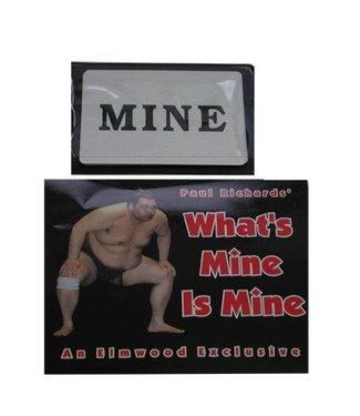 Elmwood Magic What's Mine is Mine by Paul Richards