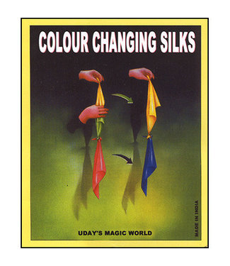 Color Changing Silks by Uday