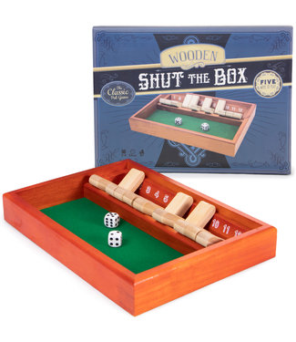 Shut The Box - Wooden