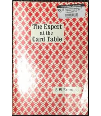 Book USED The Expert At The Card Table by SW Erdnase GBC Soft Cover VG