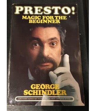 USED Book Presto! Magic For The Beginner by George Schindler from Reiss Games