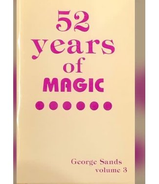 Used Book -  52 Years Of Magic Vol 3 By George Sands Soft Cover Pamphlet