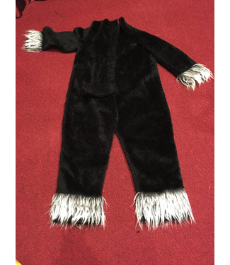 Black Cat Suit -  Body Only Adult Size