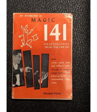 USED Introduction To Magic 141 Sherman Ripley - Book