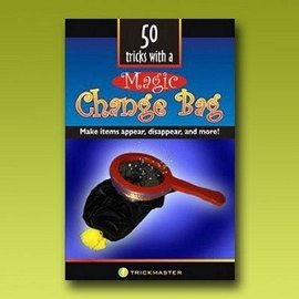 50 Tricks With A Change Bag Book by Roman LePree and Trickmaster Magic