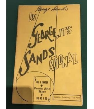 USED By George It's Sandsational George Sands
