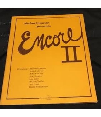 Book USED Encore II by Michael Ammar Pamphlet VG
