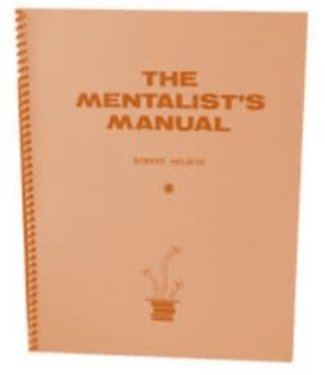 The Mentalist's Manual by Robert Nelson and Hades Publications