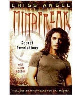 Book USED Mindfreak Secret Revelations by Criss Angel 1st Ed w/Dust Jacket E