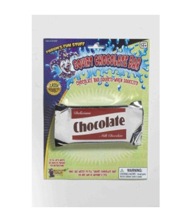 Forum Novelties Squirt Chocolate Bar