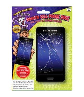 Forum Novelties Broken Cell Phone Screen Joke