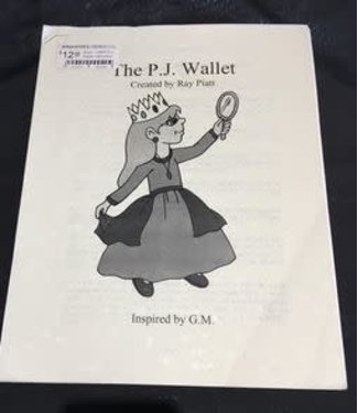 Book - USED P.J. Wallet Instruction Manual by Ray Piatt - Inspired by G.M. (M7)