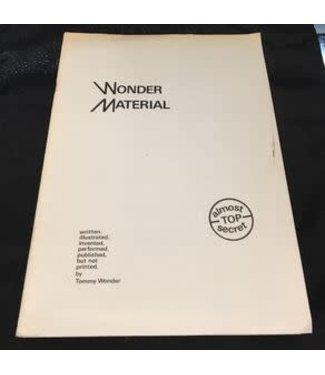 Book USED Wonder Material Almost Top Secret by Tommy Wonder Pamphlet VG