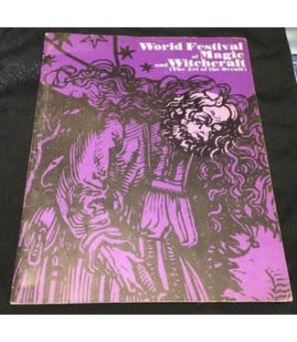 USED World Festival Of Magic And Witchcraft 1971- Souvenir Program VG
