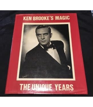 Book USED Ken Brooke's Magic The Unique Years by Ken Brooke 1980 w/Dust Jacket VG