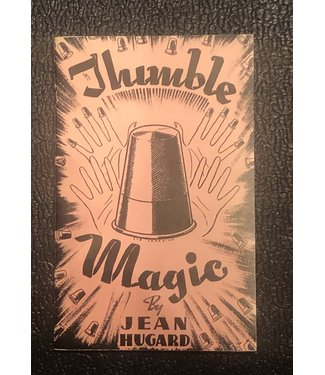 Used Book Thimble Magic by Jean Hugard 4th Print Soft Cover Pamphlet
