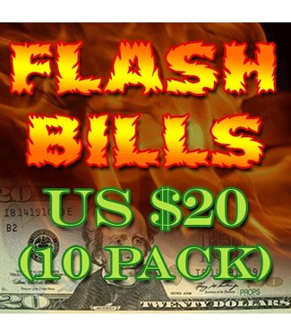 Flash Bills - Ten Pack $20.00 Denominations