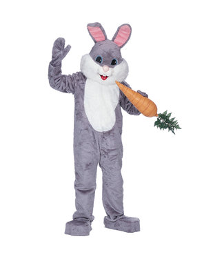 Mascot Rabbit Grey Deluxe