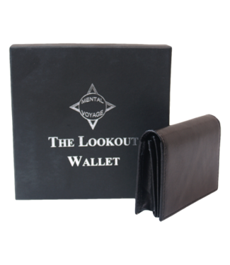 Mental Voyage The Lookout Wallet by Paul Carnazzo