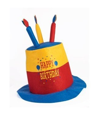 Forum Novelties Happy Birthday Hat