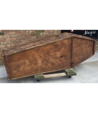 Ronjo Coffin Life Sized Wood Prop