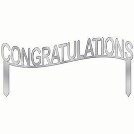Forum Novelties Cake Topper Congratulations