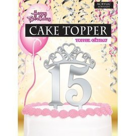 Forum Novelties Cake Topper 15, Girl