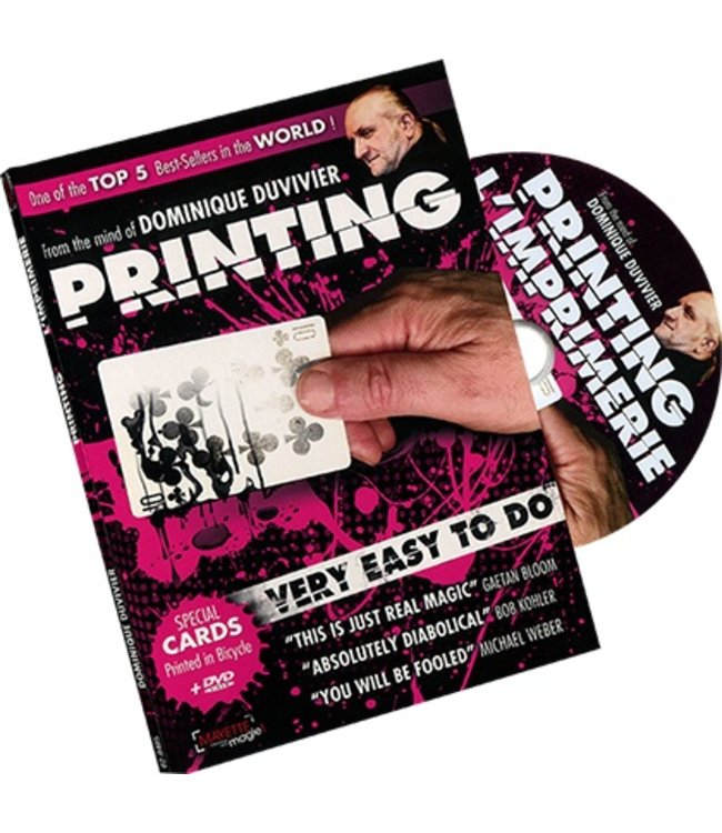 Printing 2.0 with New Ending (DVD and Gimmicks) by Dominique Duvivier  (M10)