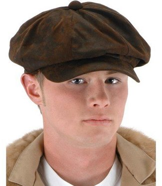 Elope Steampunk Driver Brown Suede Hat by Elope