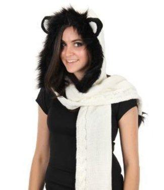 Elope Panda Knitted Hood by Elope