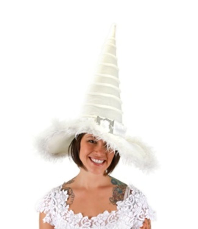 Elope Good Witch Hat, White by Elope