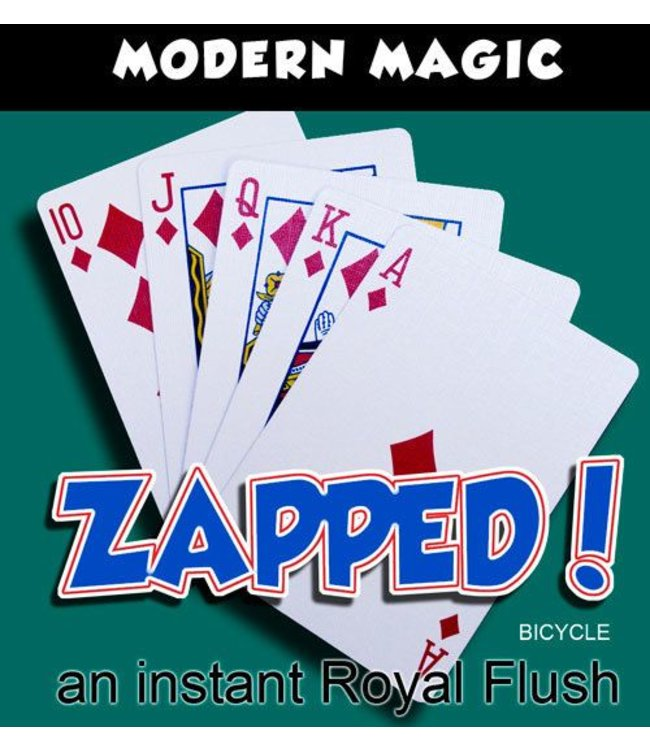 Zapped - Bicycle Back by Modern Magic