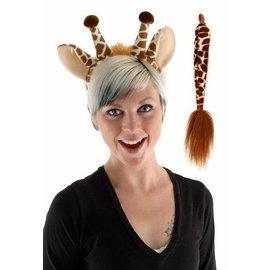 Elope Giraffe Ears And Tail Kit