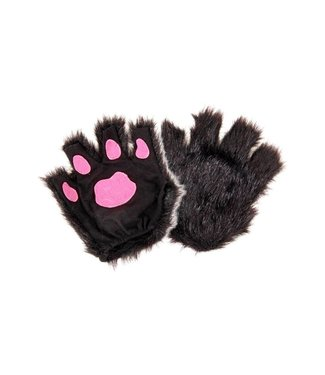 Elope Fingerless Paws, Black by Elope