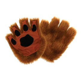 Elope Fingerless Paws, Brown by Elope
