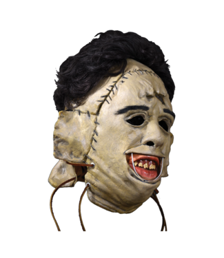 Trick Or Treat Studios Mask Leather Face Killer, 1974  - Texas Chainsaw Massacre