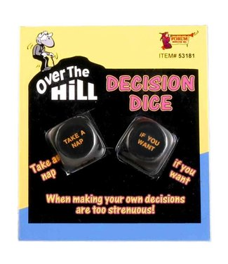 Forum Novelties Over The Hill Decision Dice