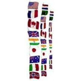 Silk - Production String Of Flags, Large by Funtime Magic